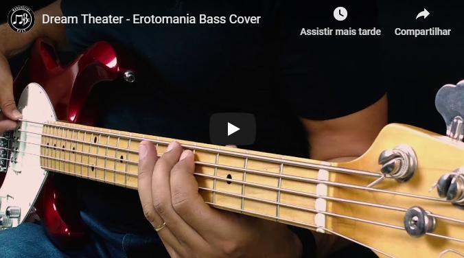 cover erotomomania bass cover